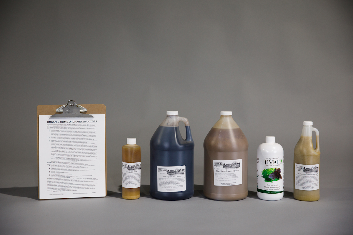Holistic Orchard Spray Kit