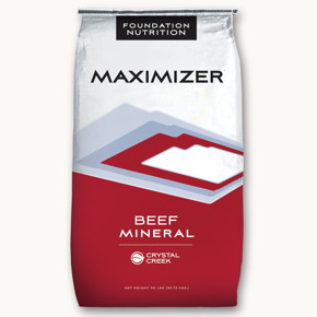 Crystal Creek® Maximizer™ Beef Mineral