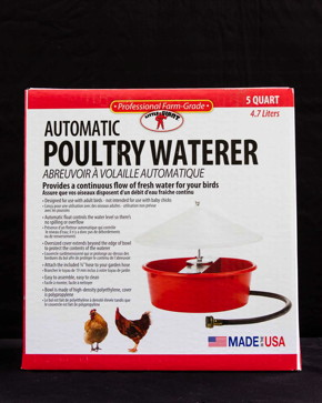 Automatic Poultry Waterer